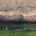 Storm over Harbor (print only)