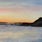 Sunset on the Danube<br>22x14<br>$400