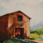 Tuscan Barn (Italy) (Sold)