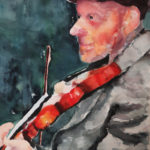 The Violinist<br>14x20<br>$600