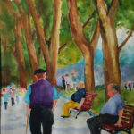 Walk in the Park<br>15x21<br>$350